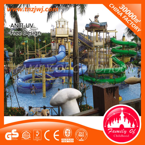 Family Water Playground Games Big Water Park Slide for Sale pictures & photos