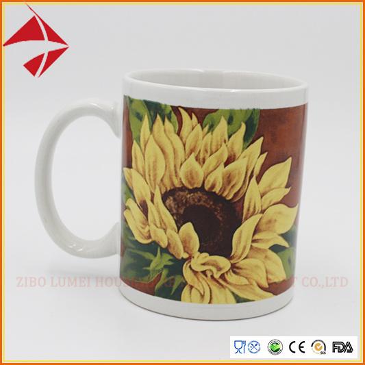 Wholesale 11oz Color Glazed Ceramic Cup/Coffee Mug/Tea Cup Set for Gift