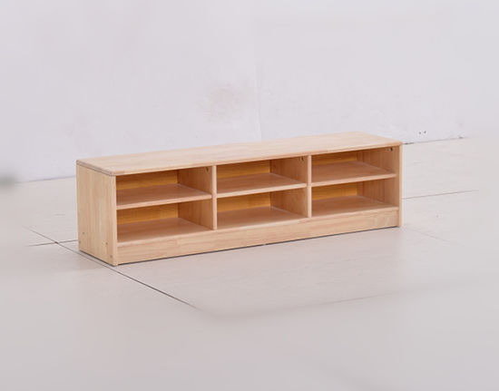 Wooden Shoes Display Stand Wooden Shoe Cabinet Classroom Shelf