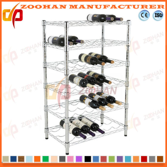 Five Layers House and Office Storage Wine Shelf (Zhw5)