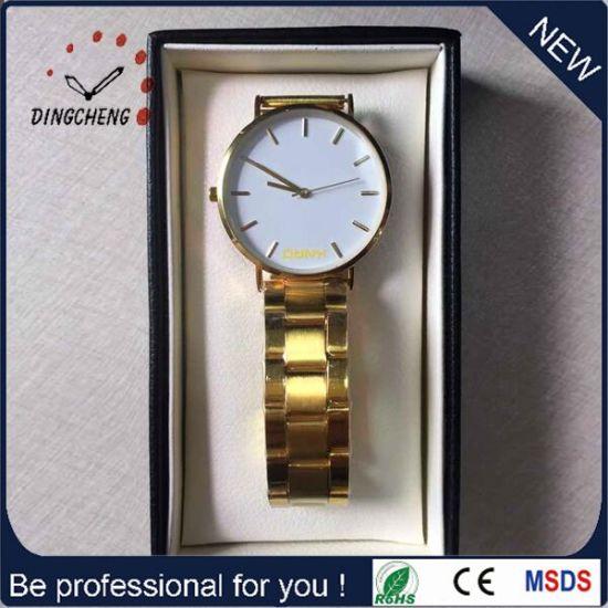 Singapore Movement Gold Jewellery Sport Stop Watch (DC-1334)