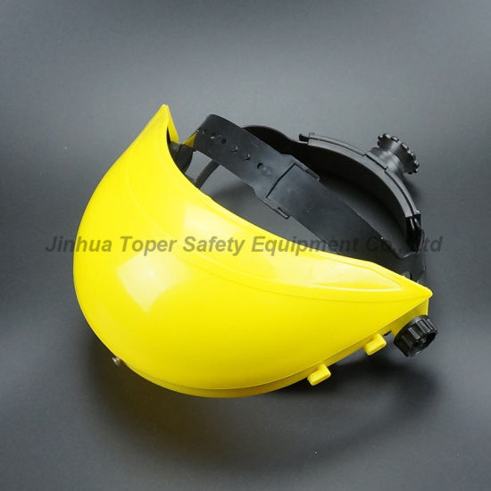 Top Sell Face Shield PVC Visor with Ratchet Suspension (FS4014) pictures & photos