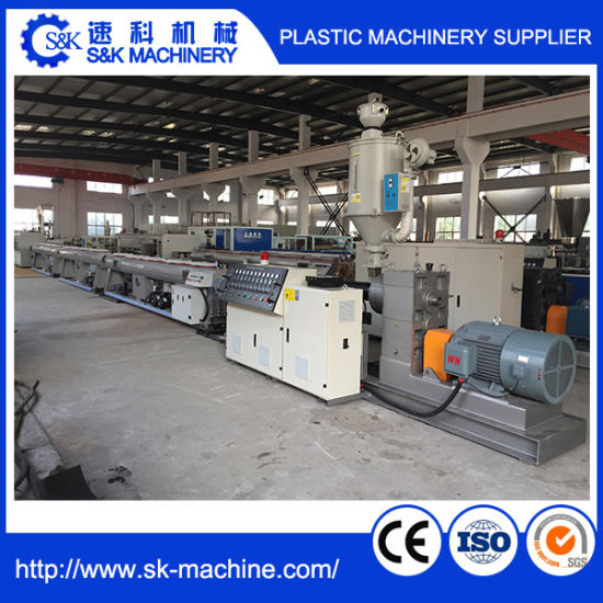 Plastic Tube Machine for PE/PP/PPR Pipe pictures & photos