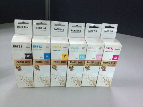 China High Quality Refill Ink T502bk, T502c, T502m, T502y