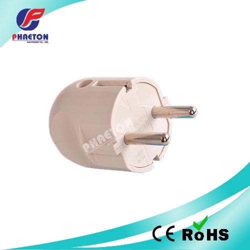 Round Power Adaptor Plug 2pin