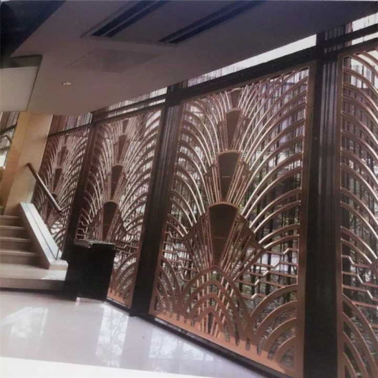 China Home Deco Stainless Steel Metal Screen Partition Wall for ...