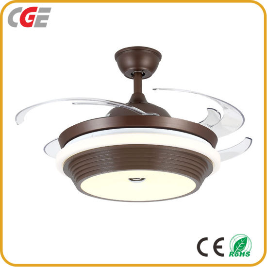 Led Ceiling Fan Light 72w Invisible
