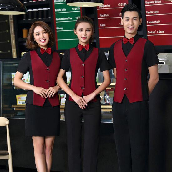 Hotel Reception Workwear/Reception Uniform Design/Uniform for Reception Staff