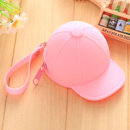 Mini Hats Key Case Silicone Female Purse Bdbgl229 pictures & photos