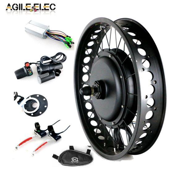 Agile 48V 1000W Fat Bike Conversion Kit with 20 * 4.0 Rim
