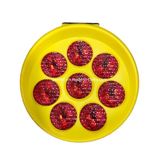 Super- Brightness High Intensity Solar Warning Signal Arabia Solar LED Sunflower Light pictures & photos