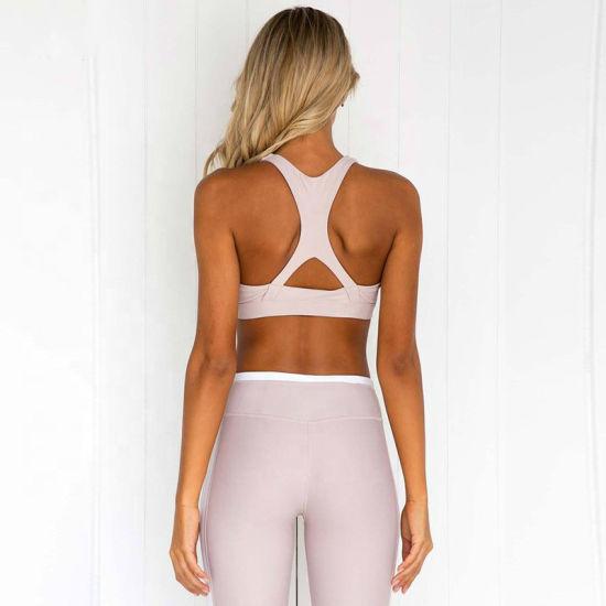 Women High Waisted Fitness Workout Leggings Custom Logo Seamless Gym Leggings