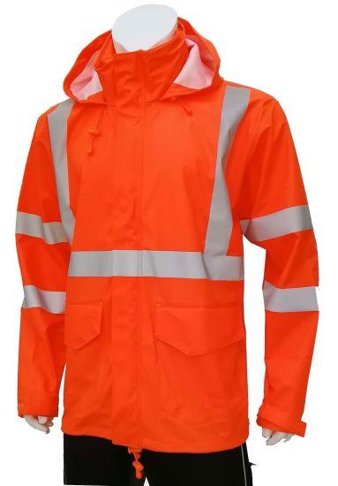 Men's High Visibility PU Workwear Jacket