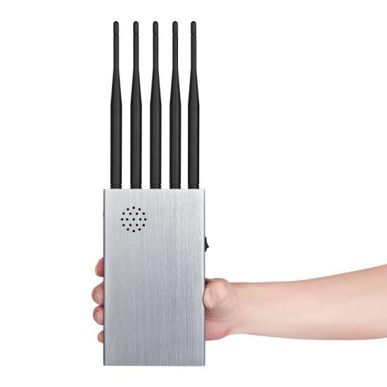 10 Channels Signal Isolator, Block 2g.3G.4G.Gpsl1.WiFi.Gpsl2-L5.Gpsl3-L4.Lojack. Longer 2.0dBi Gain Antennas. 12000mAh Battery, Shielding Radius up to 20m
