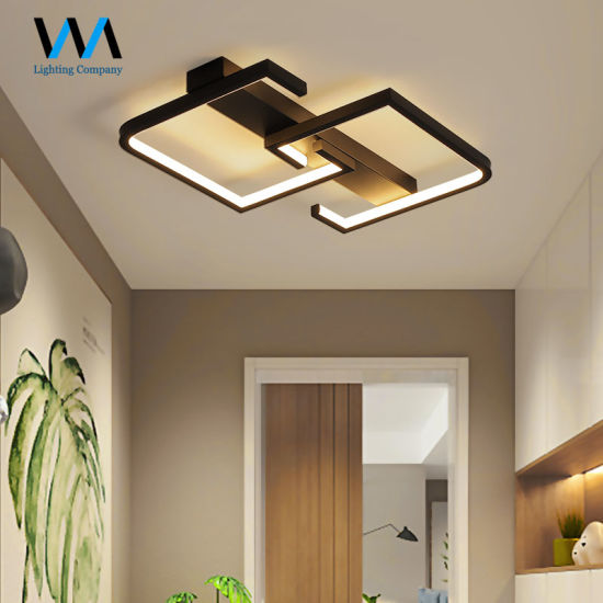 Warm White Simple Modern Acrylic LED Ceiling Lamp