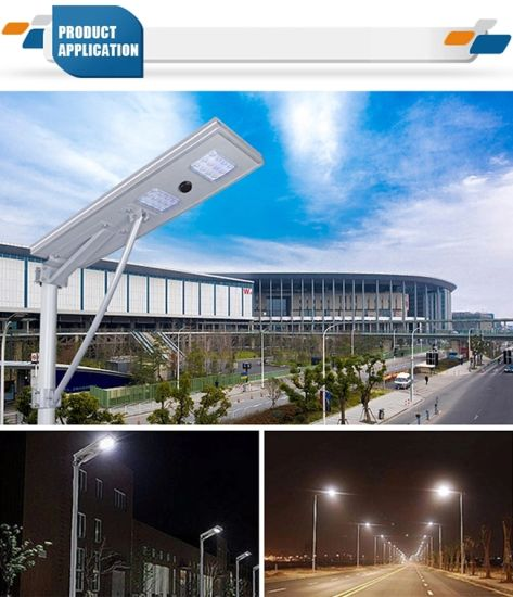All in One 40W/50W/60W/80W Integrated Solar Street Light pictures & photos