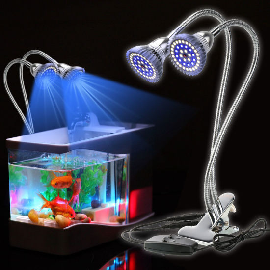 Ip67 Waterproof Adjustable Dimmable Led Aquarium Light For Fish Tank