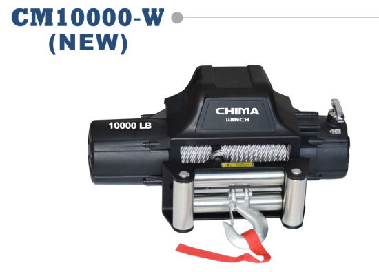 New Style 4X4 Electric Winch, 10000lb Pull Capacity 12VDC