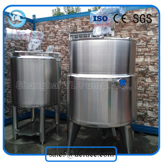China Stainless Steel 304/316L Steam Heated Pressure Vessel for Food ...