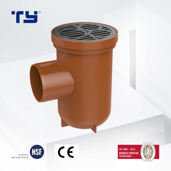 PVC-U Plastic Drainage Waste Pipe Tube Fittings Bottle Trap GB/T 5836.1 Lesson Sam-UK Tianyan OEM