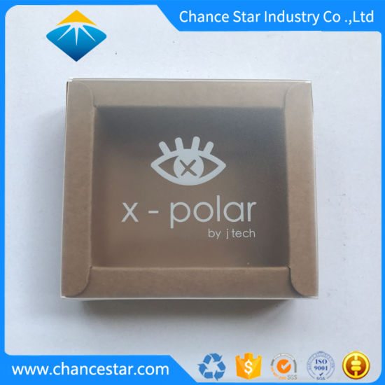Custom Paper Sliding Foldable Gift Box with Clear Sleeve