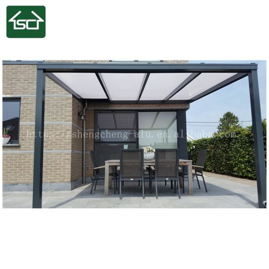 China 2018 Diy Front Door Patio Rain Cover For Solid Polycarbonate