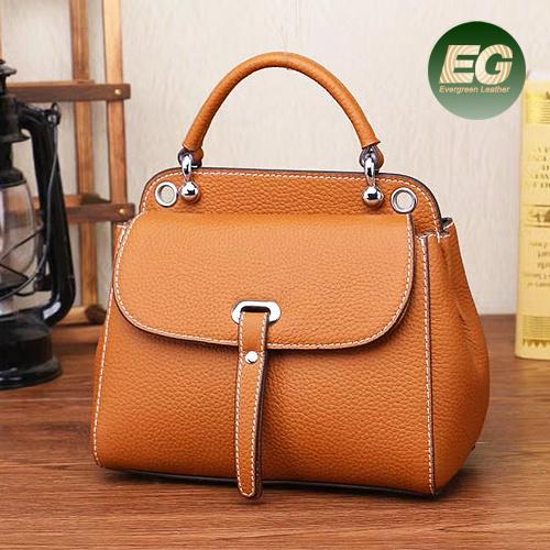 a574146f5e Genuine Leather Ladies Handbag Fashion Designer Handbag Factory Price  Export From Guangzhou Emg5309 pictures   photos