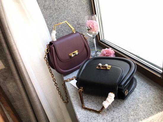 Luxury Genuine Leather Ck Women Shoulder Handbag