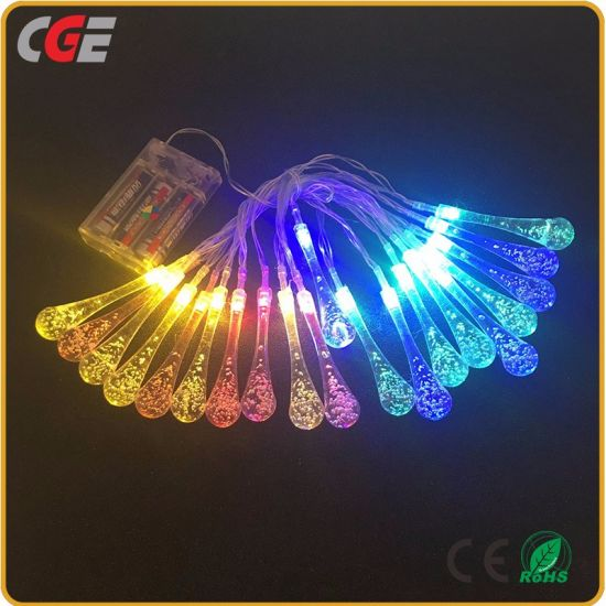 led christmas light led bubble light string lights 5 meters christmas light tree decoration iamps best price holiday led lighting