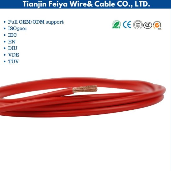 600V Electric PVC Jacket Hook up Wire 1015 8AWG Cable