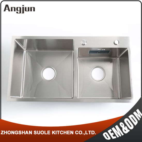 Competitive Price Thin Panel Industrial Kitchen Stainless Steel Sink