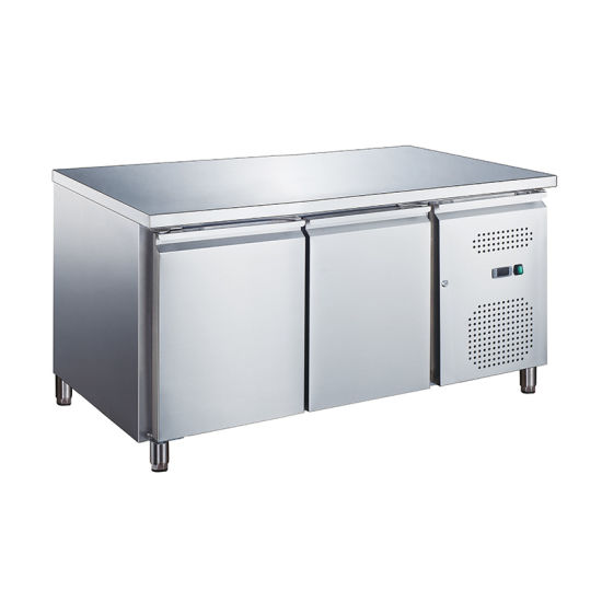 280-550L Ce Ventilated Cooling Stainless Steel Undercounter Bar Refrigerator
