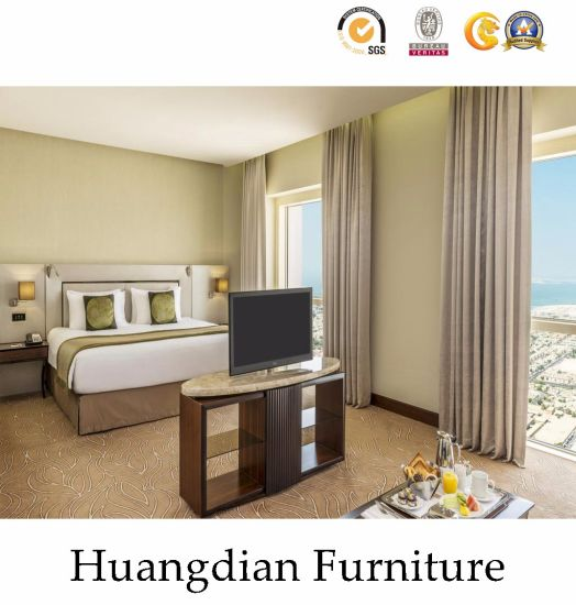 China Commercial Hotel Bedroom And Living Room Furniture Sets Hd037