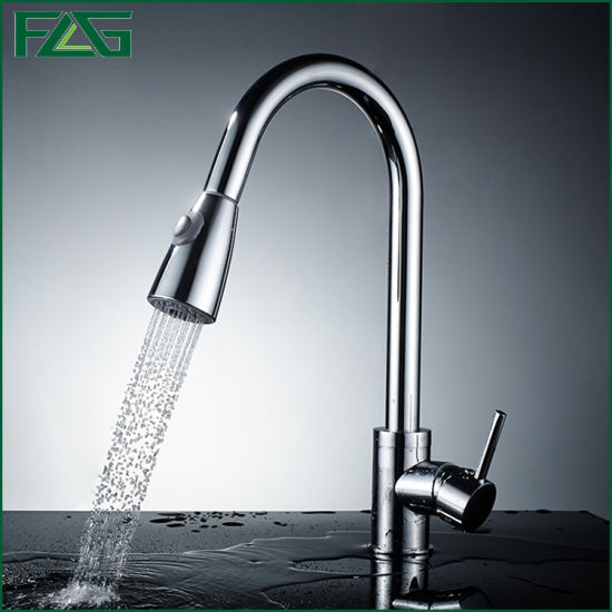 Flg Pull out Bathroom/Kitchen Faucet Basin Mixer /Taps