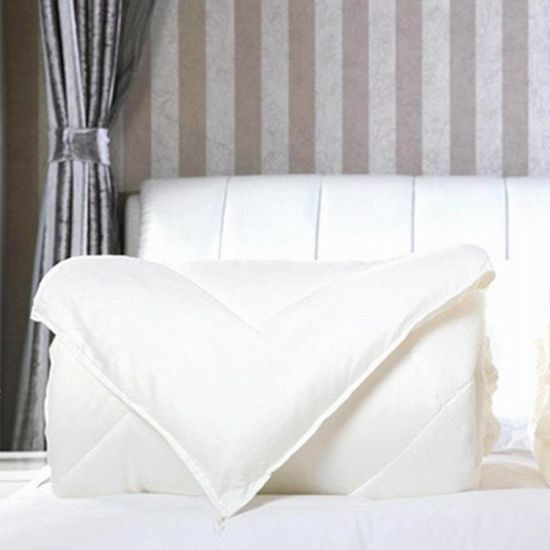 Wholesale Hot Selling Rolling Piping White Summer Quilt/Duvet/Comforter