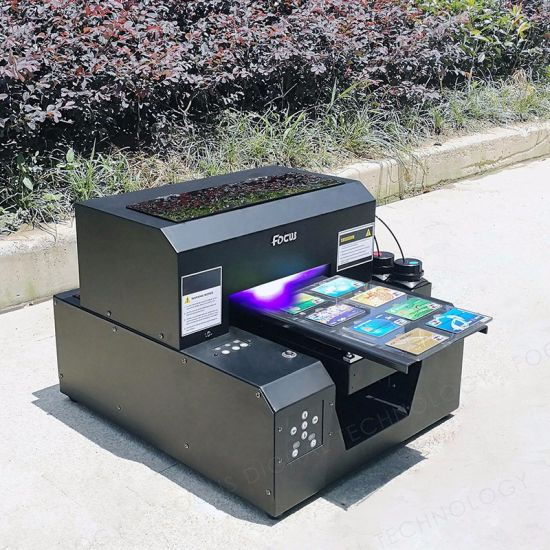 A4 Size UV Printer for Phone Case, Business Card, Acrylic, Metal, Glass etc