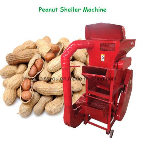 Diesel Engine Peanuts Shelling Peanut Sheller Peeling Machine