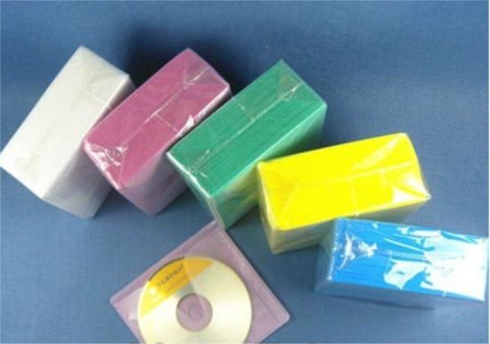 DVD Sleeve PP CD Sleeve Plastic CD Sleeve Without Adheresive for 2 Discs