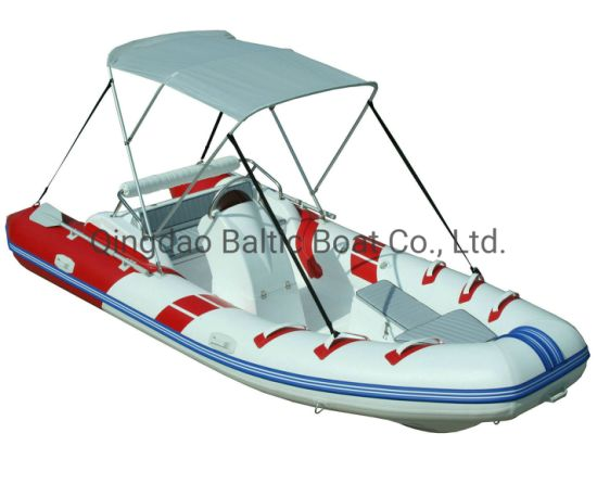 Rib470c Yacht with Ce Motor Fishing Rigid Inflatable Boat