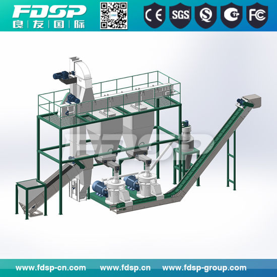 CE Certificated Biomass Wood Pellet Pelletizing Machine/Line pictures & photos