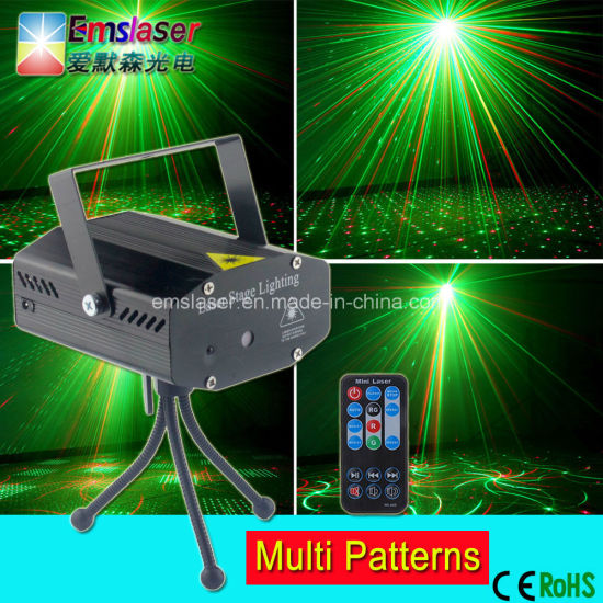 wholesale multifunctions 4 in 1 mini laser light christmas party lights