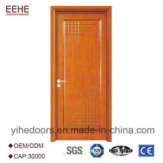 China High Quality Simple Design Wooden Door with Hollow Particle ...
