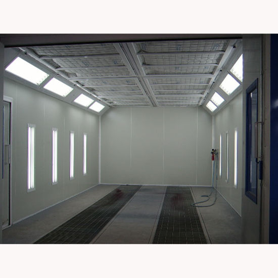 Spraying Booth with Low Price Environmental Spray Cabin Enhance Work Efficiency pictures & photos