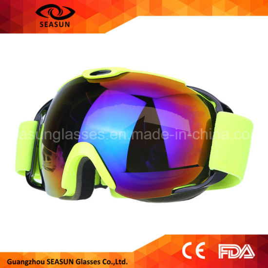 d3a4a02d70 Best Spherical Coating Lens UV400 with Prescription Glasses Ski Snow Goggles  for Men and Women