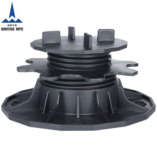Custom-Made Adjustable Plastic Pedestals with Range 35-70mm for DIY Wood Stones Tiles