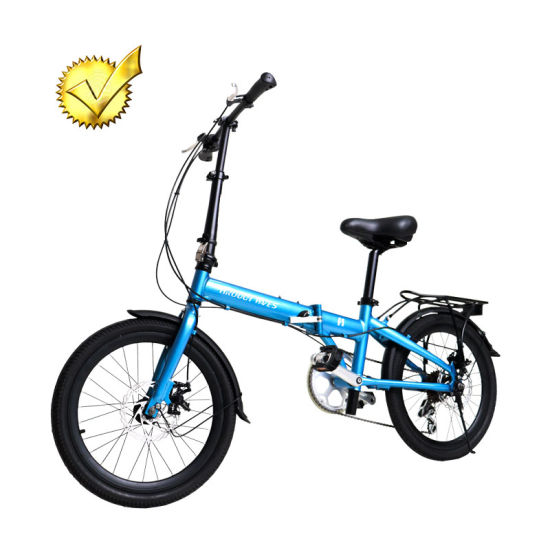 New Model Aluminum Alloy Cycle Folding Bicycle Space Saving Fashion Bike