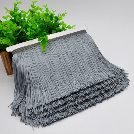 Wholesale Fashion 20cm Double Thread Fringe Trim for Decoration