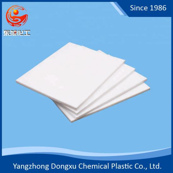 China 100% Teflon Virgin Material 1mm - 8mm Thick Sheet
