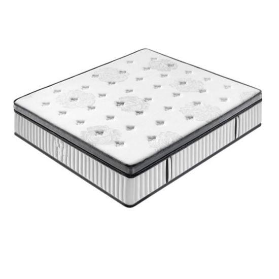 Angel Dream Luxury Design Pillow Top Memory Foam Pocket Spring Mattress