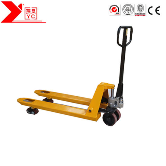 Cheap Price 1000kg-5000kg Hand Pallet Truck/Hydraulic Manual Pallet Jack/Material Handling Tools pictures & photos